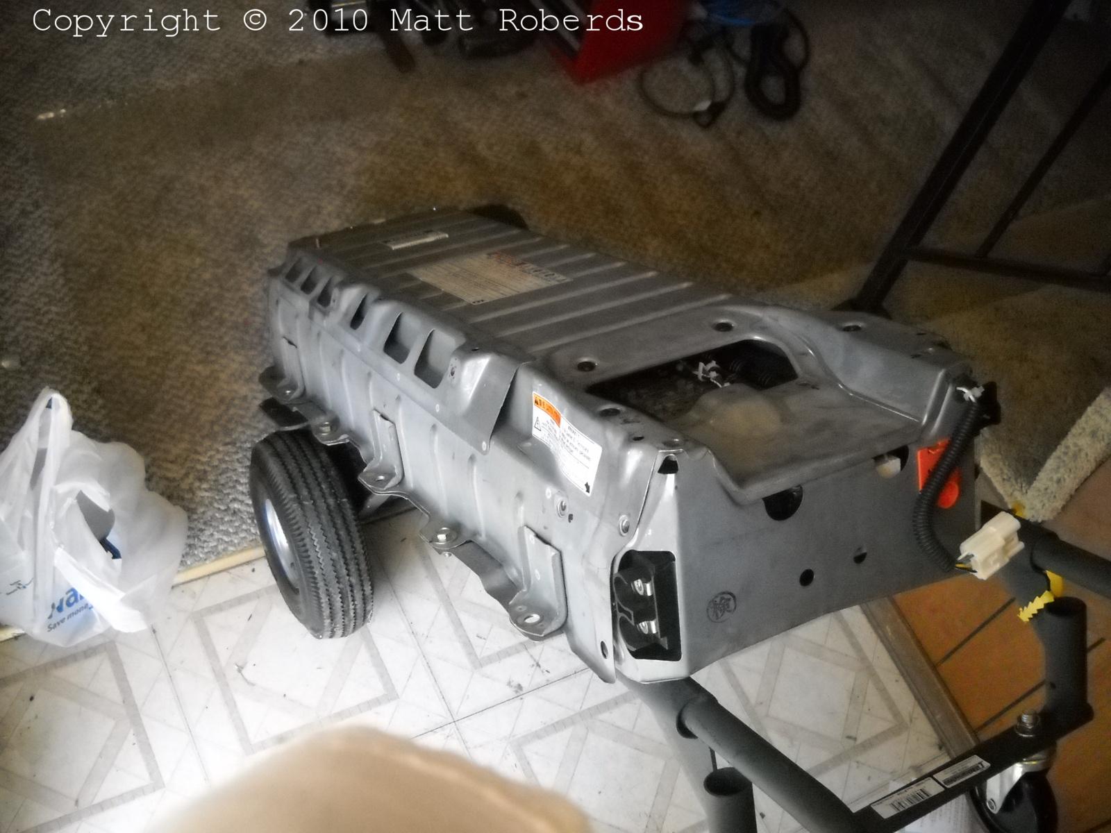2001 Toyota Prius NHW11 battery swap